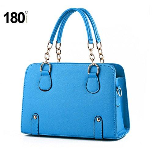 Sacchetti di spalla delle borse di cuoio dei sacchetti di Tote di modo delle signore delle nuove donne di disegno caldo di lusso arancia Venta Barata 100% Auténtico qWl2JS