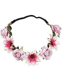 48873fec1b7c8c Neu Garland Damen Simulation Sonnenblume Rose Haarband Stirnband, LEEDY  Mädchen Kopfband Tanzparty Party Geschenk Neuheit Blume…