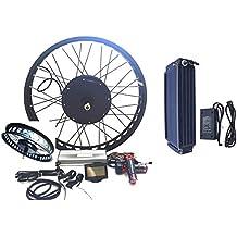 "3000W Hub Motor 48V26AH Panasonic NCR18650PF Li-on Ebike Batería Bicicleta ELÉCTRICA KIT DE CONVERSIÓN + LCD Theebikemotor (26"" x 4.0 Rear Fat Wheel + 6 Speed Gear)"
