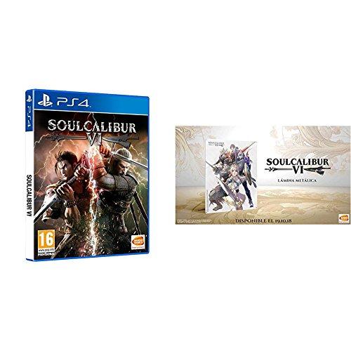 Soulcalibur VI PS4 + Lámina Metálica - Preventa