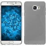 Coque en Silicone pour Samsung Galaxy A3 (2016) A310 - S-Style transparent - Cover PhoneNatic Cubierta + films de protection