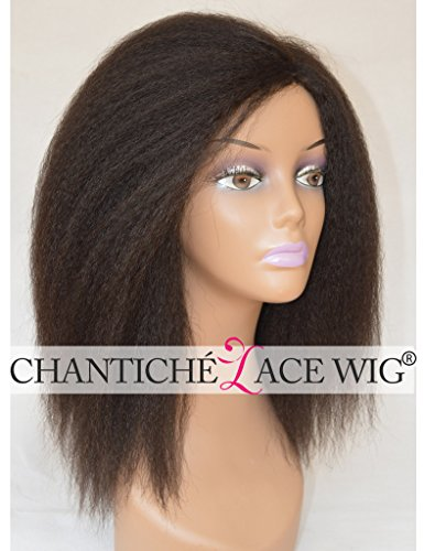 Bestsojoy Brazilian Kinky Straight Lace Frontal Wig With Baby Hair Yaki Lace Wig Human Hair Wigs For Black Women 180% Density Neither Too Hard Nor Too Soft Hair Extensions & Wigs Lace Wigs