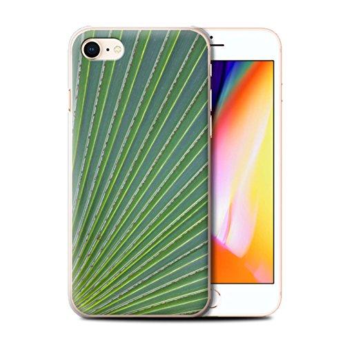 Stuff4 Hülle / Case für Apple iPhone 8 / Gras / Rasen Muster / Pflanzen/Blätter Kollektion Wellenförmig