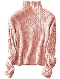 Wenwenma Damen Mode Kaschmir Pullover-Herbst und Winter Kaschmir Pullover 794a777236