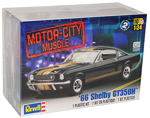 Ford Shelby Mustang Gt350h GT 350 H Eleanor Bausatz Kit 1/24 Revell Modellauto Modell Auto (Modell-auto-kits Ford Mustang)