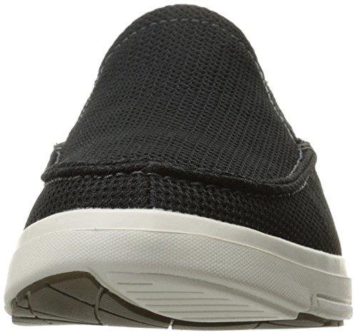Skechers USA Mens Moogen Selden Slip-On Loafer Black