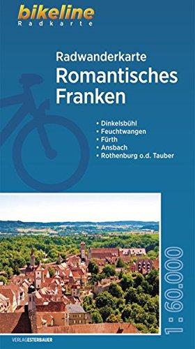 Romantisches Franken Cycling Tour Map 2014 por Esterbauer Verlag GmbH