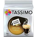 Tassimo Dosette Café - Carte Noire Café Long Classic - 80 Boissons (Lot de 5x16 T DISCs)