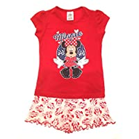 Disney Lora Dora Girls Minnie Mouse Short Pyjamas