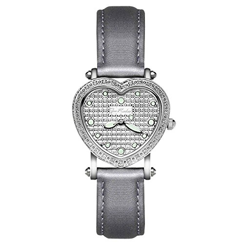 Joe Rodeo Diamant Femme Montre - MINI HEART argent 0.27 ctw