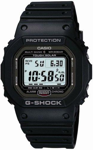 Casio G-Shock Tough Solar Radio Clock Multiband 6 GW-5000-1JF Men's Watch Japan import