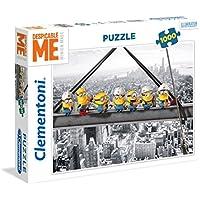 Clementoni - Puzzle 1000 Piezas Minions ATOP a Skyscraper (39370) - Peluches y Puzzles precios baratos