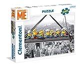 Clementoni - Puzzle 1000 piezas minions atop a skyscraper (39370)