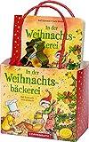 In der Weihnachtsbäckerei: Geschenkset: Buch mit Ausstechförmchen