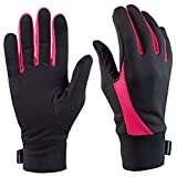 Best Running Gloves - TrailHeads Elements Running Gloves - black / neon Review