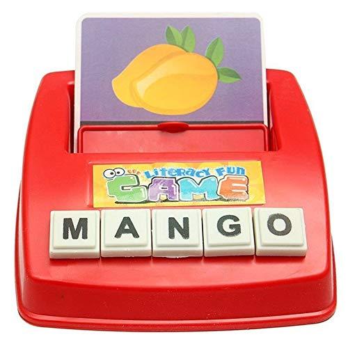 Multicolor-Spielzeug-englische Alphabet-Spiel-Maschine Englisch Wortspeicher Kinder Puzzle Früherziehung Spielzeug