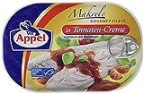 Appel Makrelenfilets, zarte Fisch-Filets in Tomaten-Creme, 200 g