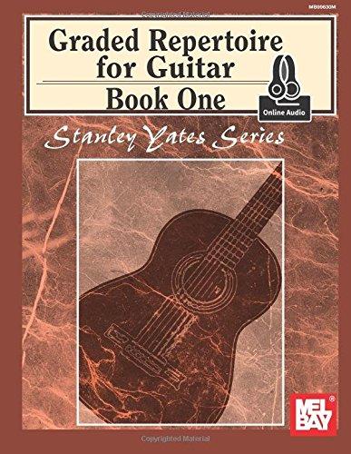 graded-repertoire-for-guitar-book-one-stanley-yates-guitar