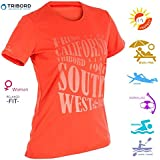 Women's Swim T Shirt, Sun Protection - UPF 50+