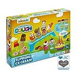 Nick Jr – Ready Steady Dough – Supreme Ice Cream – Eissalon – Knetset mit 5 Dosen Kinderknete und Accessories