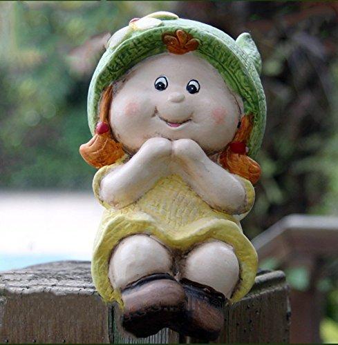 Bon Garden Gnome Baby Boy And Girl Gnome Sitting
