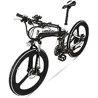 GTYW Bicicleta Plegable Eléctrica Bicicleta De Montaña Azul Kress Bicicleta Eléctrica 26 \