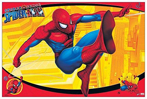 Artopweb EC40149 Pannello Decorativo, Spiderman, Legno,, 90 x 1.8 x 60 cm