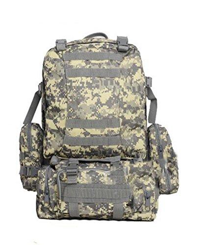 MM-Combo pack attacco zaino/zaino/borsa di tattiche/campo outdoor Pack Pack Camo , c