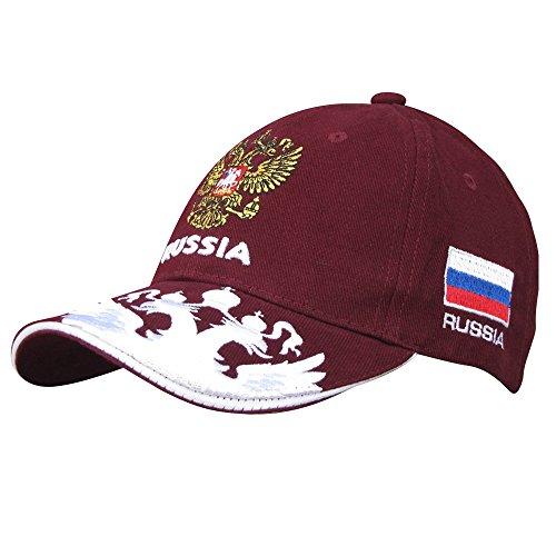 """Russland Kappe 7 /""""Россия/"""" Fan WM Cap Russia 100 /% Baumwolle 2018 neu"""