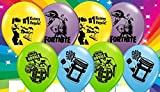 M&NKidzstuff Fortnite Balloons Party Decorations Set of 6