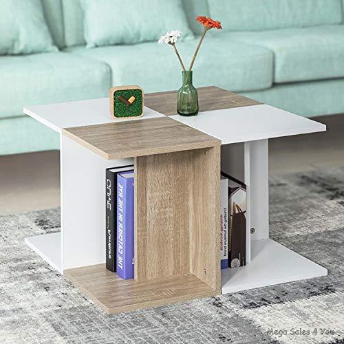 Generic Furniture Furniture Table Basse carrée en Bois pour Salon