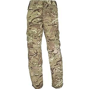 Highlander Uomo Elite Outdoor Pantaloni, Uomo, Elite, mimetico, 3XL