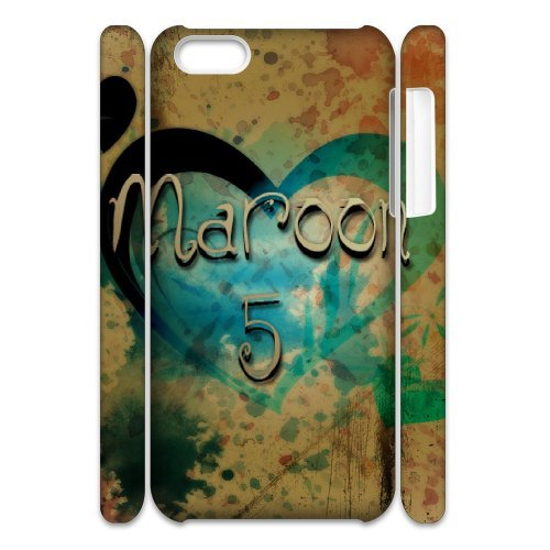 LP-LG Phone Case Of Maroon 5 For Iphone 4/4s [Pattern-6] Pattern-5