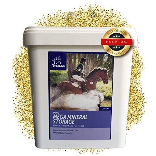EMMA ♥ Mineralfutter komplex für Pferde I B-Vitamine & A,E,C,D, Biotin, Zink, Selen, Bierhefe I Hufwachstum & Fell Senior 5 Kg