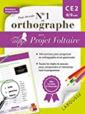 Pour devenir nº1 en orthographe avec Projet Voltaire CE2