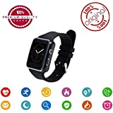 Easypro™ All Leading Smartphone Compatible Bluetooth Smart -Watch Smart_Time_330 -With Activity Trackers And Fitness Band Features (Black)