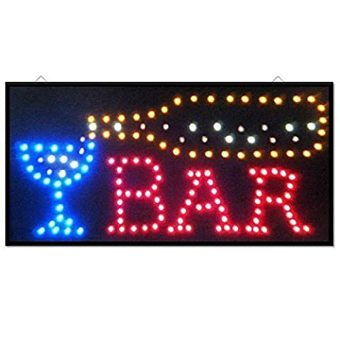 New Wine Cocktail Bar Pub Club Window Display Led Light Sign Lamp Home Restaurant Shop Disco Gift