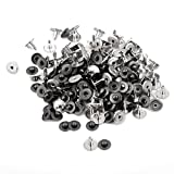 Imported 100 Sets Rivets Fasteners Studs...