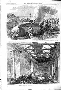 Brin 1868 Ferroviaire de Chambre du Northumberland de Train de Chester Holyhead de Catastrophe