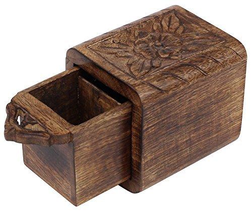 Venta de madera caja de té Cyber de lunes Deals 2016–caja de...