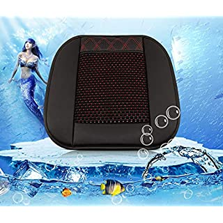 DZXYQ Auto Elektrischer Ventilator Multifunktion Kissen Eisseide Sommersaison Cooles Pad Belüftung Leerer Ton Sitzkissen,DD,USB