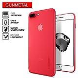 Cover iPhone 7 Plus, SPIGEN® Custodia [Air Skin] con materiale leggero semi-trasparente per iPhone 7 Plus 2016 - Rosso