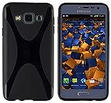 mumbi Custodia in X-TPU Compatibile con Samsung Galaxy A3(2015), Nero