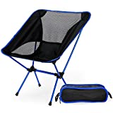 Ultralight Klappstuhl mit Tragetasche, tragbarer BEACH Sonnenbad Picknick Grill Camping Stühle, Heavy Duty 330Lb Kapazität