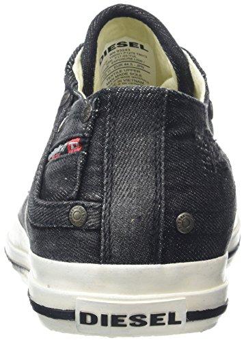 Diesel Exposure Low I, Baskets Homme Noir (Black)
