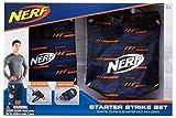 Nerf Elite Starter Strike Set 11520 beinhaltet Dart Beutel und Hüftholster mit verstellbarem Gurt aus hochwertigem Nylonmaterial im stylischen Nerf Elite Design