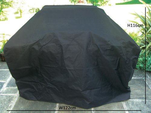 Charles Bentley Universal Gas Charcoal Fully Waterproof Premium Bbq Cover Medium 3-5 Burner
