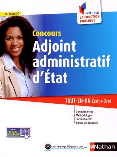 Concours Adjoint administratif d'Etat