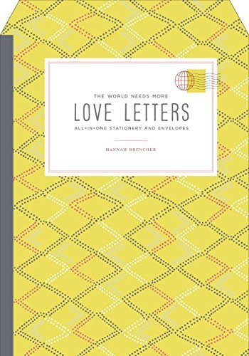 The World Needs More Love Letters All-in-One Stationery and Envelopes by Brencher, Hannah (2014) Cards