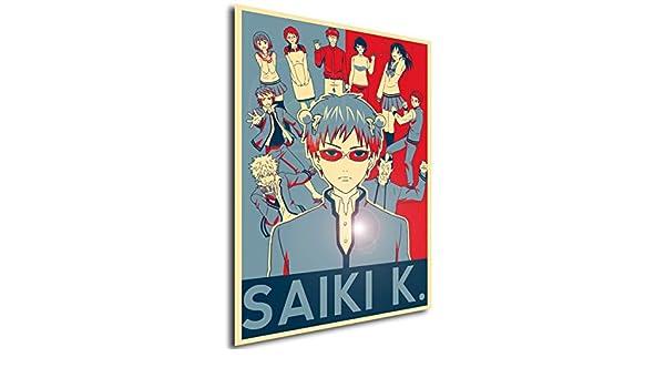 Poster Propaganda Saiki K Characters